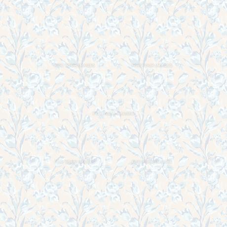 水彩調のチューリップとバラの素材 [FYI00322816]