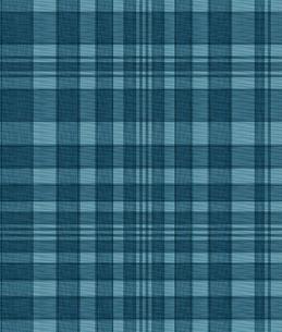 織物風、青いチェックの写真素材 [FYI00322842]