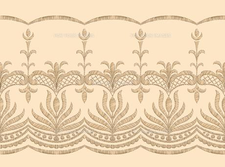 レース刺繍の素材 [FYI00322859]