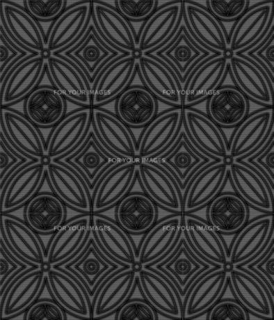 黒い七宝模様の素材 [FYI00322861]