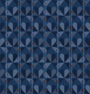 青色の幾何学模様の素材 [FYI00322863]