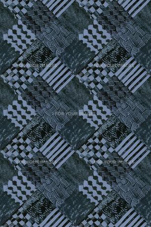 幾何模様のパッチワークの素材 [FYI00322866]
