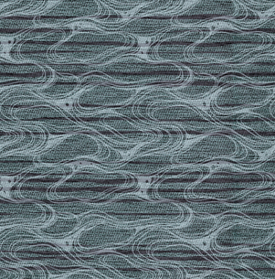 織物風、波紋柄の素材 [FYI00322869]