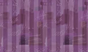 水彩調のメルヘン・ストライプの素材 [FYI00322908]