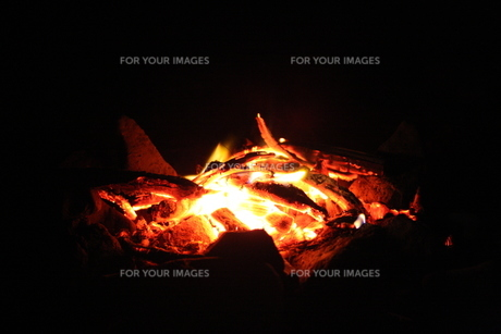焚き火2の写真素材 [FYI00322914]