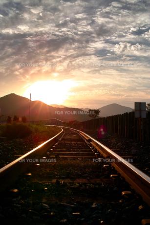 線路の写真素材 [FYI00322975]