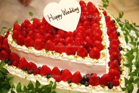ウェディングケーキの写真素材 [FYI00322979]