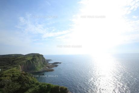 オオバエ断崖の写真素材 [FYI00323257]