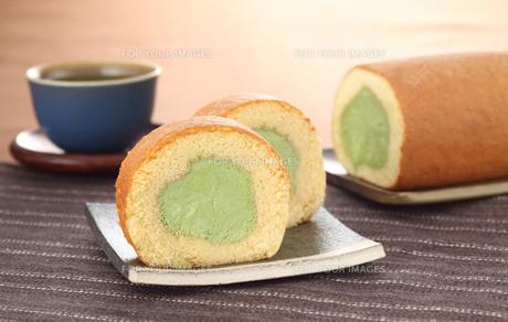 ロールケーキの写真素材 [FYI00323263]