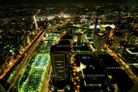夜景の写真素材 [FYI00323485]