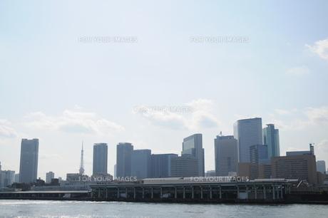 勝どき橋から見た築地市場の素材 [FYI00323516]