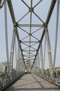 天王洲ふれあい橋の写真素材 [FYI00323549]