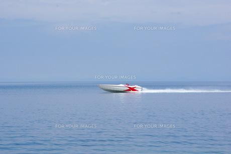 モーターボートの写真素材 [FYI00323569]