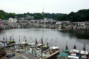 室津の漁港の写真素材 [FYI00323570]