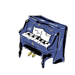 アップライトピアノの写真素材 [FYI00323621]