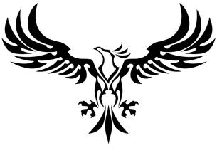 trival eagleの写真素材 [FYI00323653]