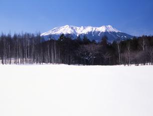 開田高原の冬の写真素材 [FYI00323919]
