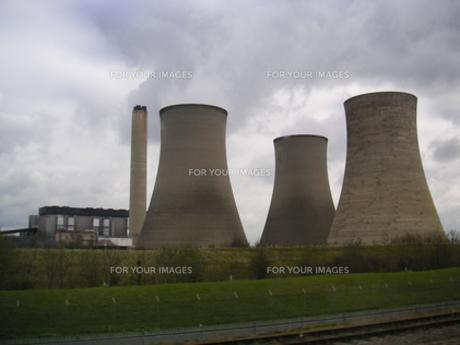 発電所の写真素材 [FYI00324376]