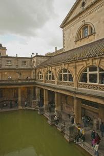 バースのローマ式公衆浴場遺跡の写真素材 [FYI00324436]