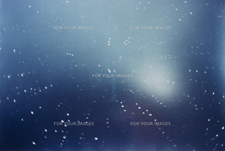 星の軌跡の写真素材 [FYI00324589]