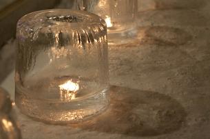 氷の灯籠の写真素材 [FYI00324608]