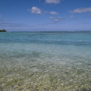 blue seaの写真素材 [FYI00324641]