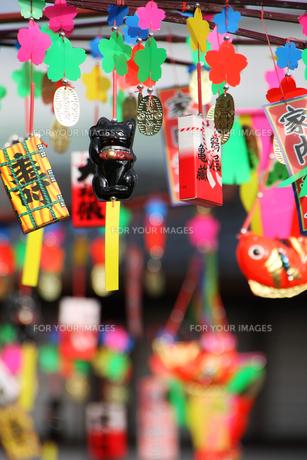 福笹の飾りの写真素材 [FYI00325060]