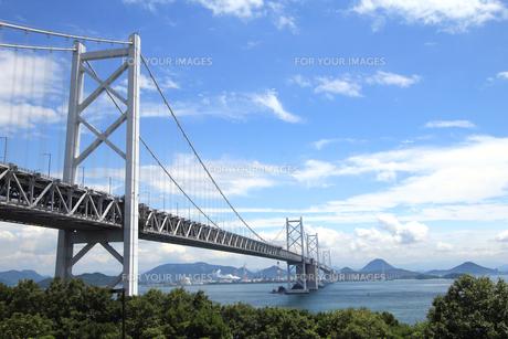 青空と瀬戸大橋の素材 [FYI00325134]
