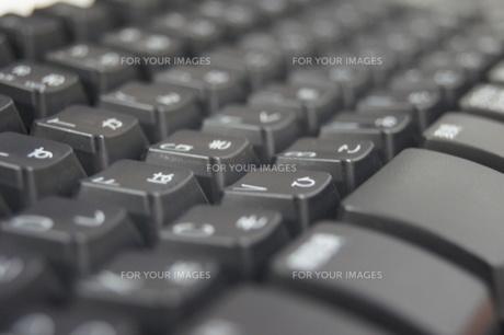 パソコンのキーボードの写真素材 [FYI00325307]