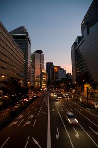 西梅田の夕景の写真素材 [FYI00325455]