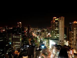 西梅田の夜景の写真素材 [FYI00325458]