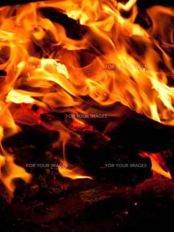 炎の写真素材 [FYI00325467]