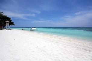 ホワイトサンドビーチの写真素材 [FYI00327660]