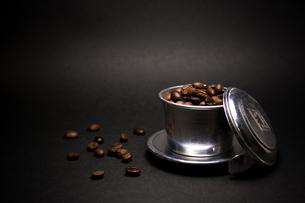 粉砕前のコーヒー豆の素材 [FYI00327727]