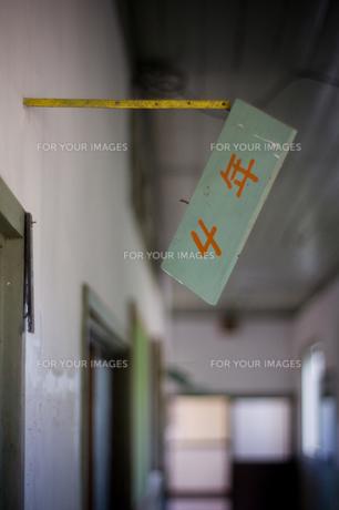 小学校廊下の素材 [FYI00327730]
