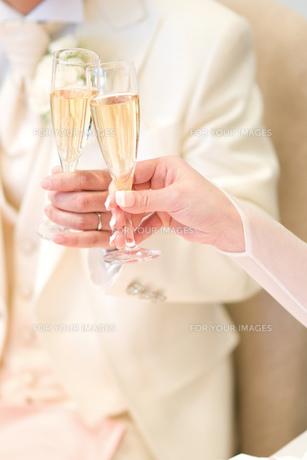 結婚式での乾杯の素材 [FYI00327736]