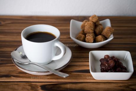 コーヒーとあんこ。の写真素材 [FYI00327776]