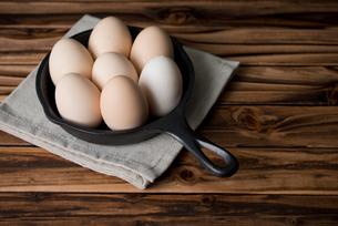 うこっけいの卵の素材 [FYI00327783]