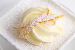 蜜柑皮とチーズのケーキの素材 [FYI00327785]