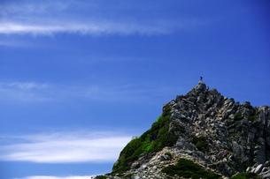 登頂の写真素材 [FYI00327806]
