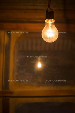 昭和の灯りの素材 [FYI00327809]