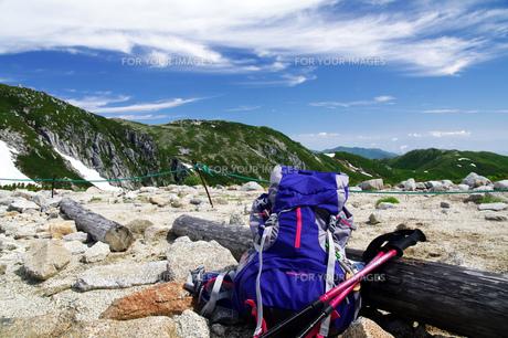 登山道具の写真素材 [FYI00327825]
