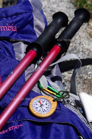 登山道具の写真素材 [FYI00327829]