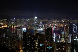 香港夜景の写真素材 [FYI00327857]