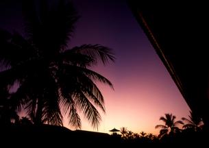 落日の写真素材 [FYI00327940]