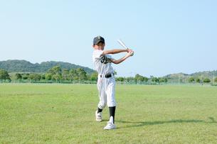 野球少年の写真素材 [FYI00328022]