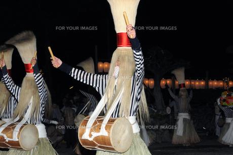 かんこ踊りの写真素材 [FYI00328054]