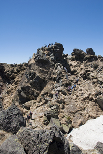 日光白根山山頂の写真素材 [FYI00328157]