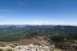 関東以北最高峰からの眺めの写真素材 [FYI00328166]