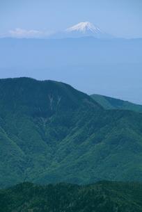 日光白根山からの富士山の写真素材 [FYI00328170]